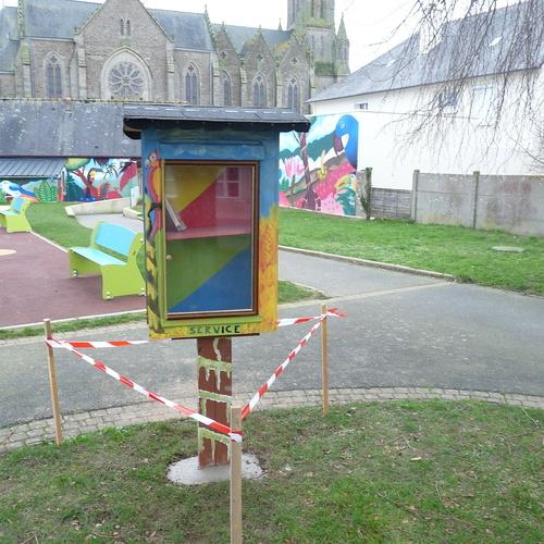 La commune se dote d''une boîte à livres