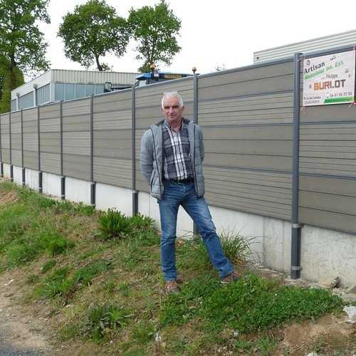 Lotissement du Guédrain : une clôture installée