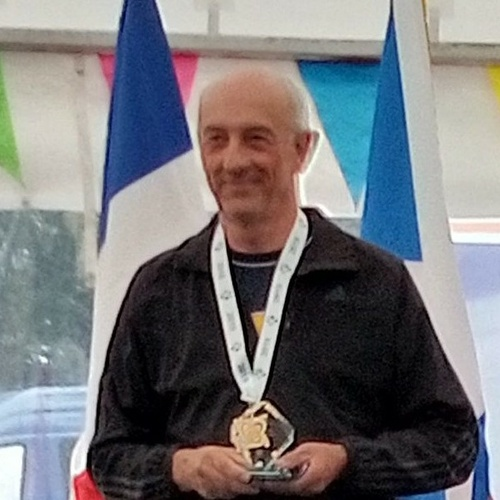 Michel Duquesnoy sur le toit de l''Europe du balltrap