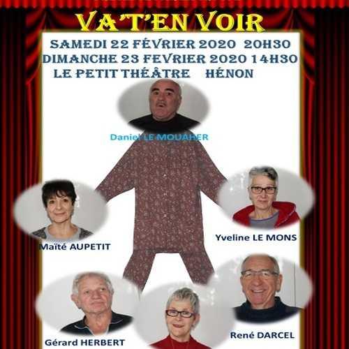 Théâtre : Un pyjama pour six