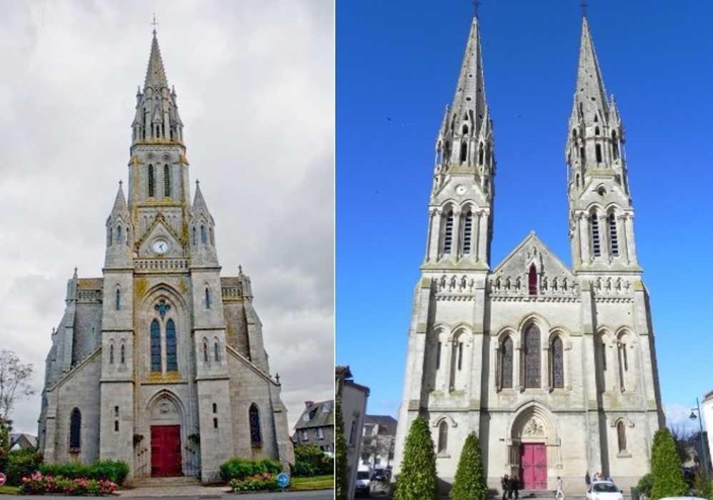 Hénon-Machecoul, une église en copie une autre 0