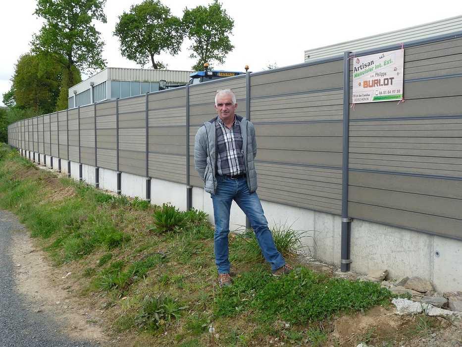Lotissement du Guédrain : une clôture installée 0