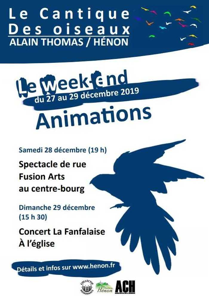Le Cantique des Oiseaux : concert de La Fanfalaise 2019-12-28